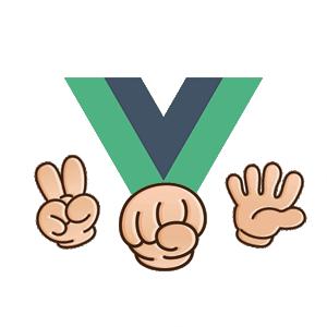 Vue.js로 가위바위보 게임 만들기 로고
