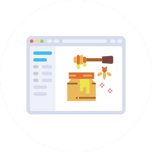 웹개발 꿀팁 로고 이미지